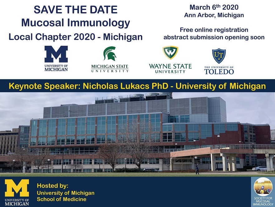 Mucosal Immunology Symposium - Save the Date