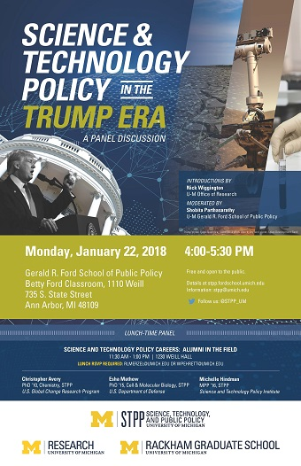 Panel Discussion on Science & Technology in the Trump Era